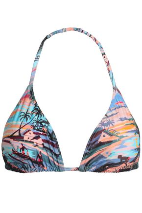 ORLEBAR BROWN Printed triangle bikini top