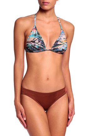 ORLEBAR BROWN Printed triangle bikini top