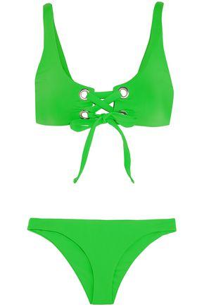 MARA HOFFMAN Lace-up bikini