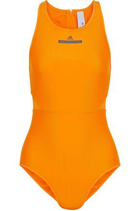 ADIDAS by STELLA McCARTNEY Mesh-paneled printed swimsuit