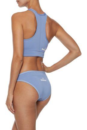 ADIDAS by STELLA McCARTNEY Reversible mid-rise bikini briefs