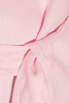 34a375c5e4 ... LISA MARIE FERNANDEZ Rosie off-the-shoulder linen maxi dress ...