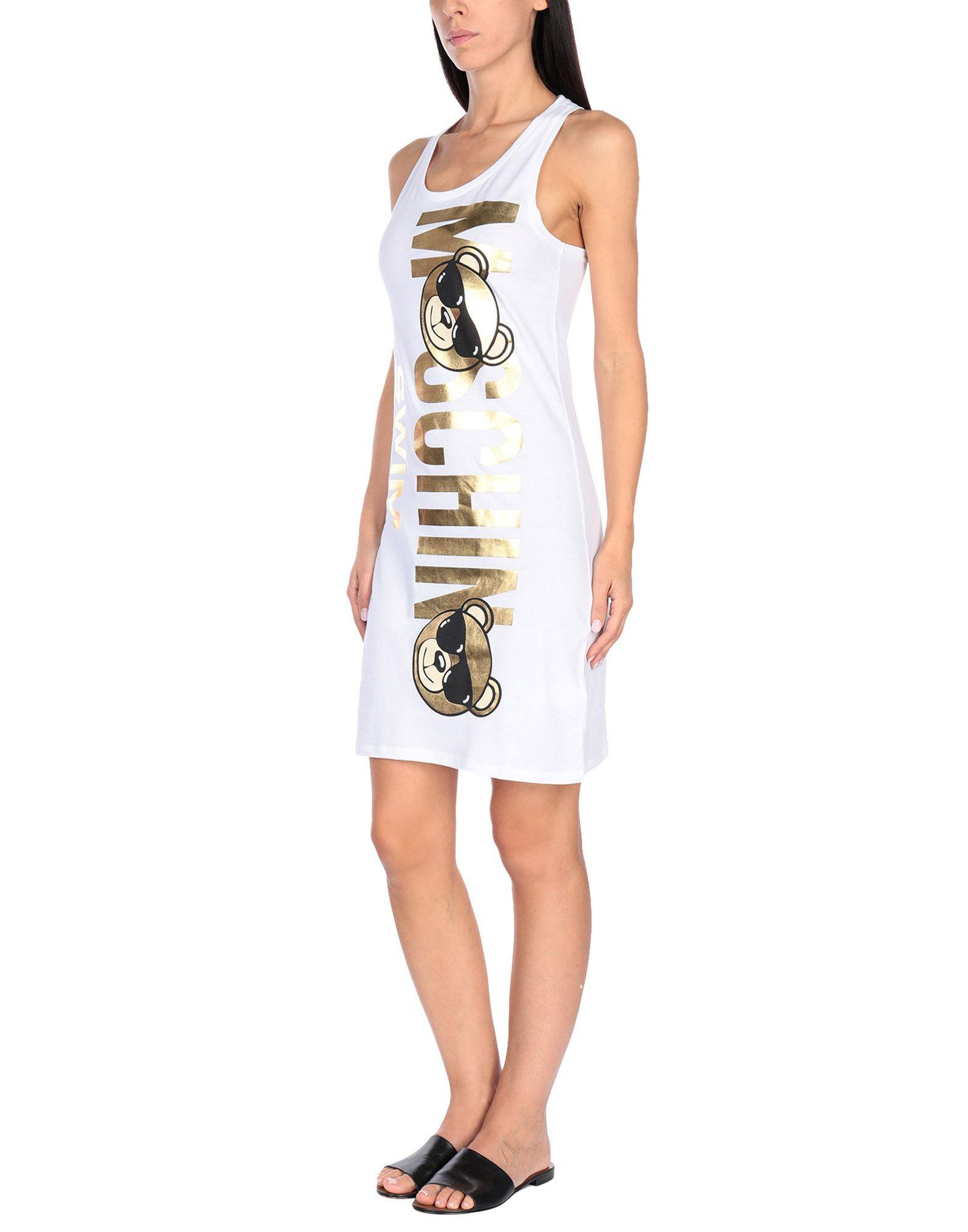 цена на MOSCHINO Пляжное платье