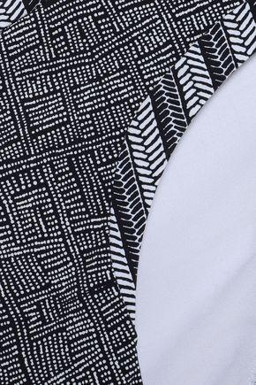 HEIDI KLUM SWIM Printed low-rise bikini briefs