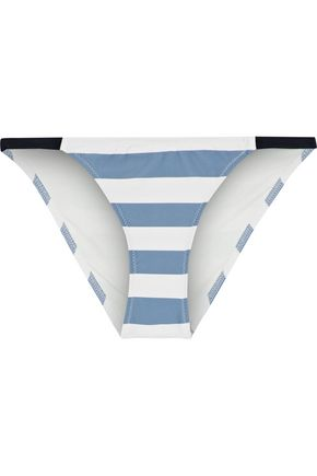 SOLID & STRIPED The Morgan striped low-rise bikini briefs