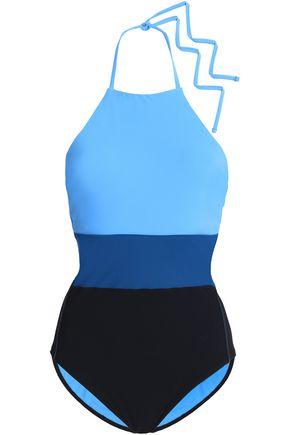 DIANE VON FURSTENBERG Color-block swimsuit