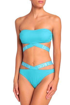 CALVIN KLEIN Cutout mid-rise bikini briefs
