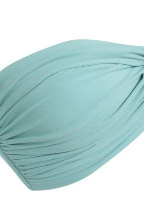 NORMA KAMALI Twist-front bandeau bikini top