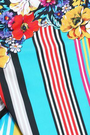 MARY KATRANTZOU Printed swimsuit