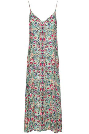 TART COLLECTIONS Printed crepe midi dress