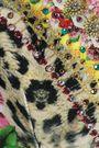 CAMILLA Memory Lane crystal-embellished floral-print triangle bikini top