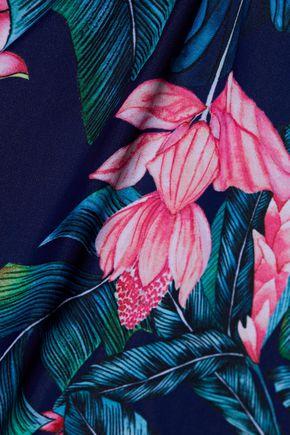 DUSKII Haleakala floral-print swimsuit