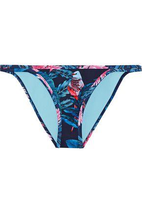 DUSKII Haleakala printed neoprene low-rise bikini briefs