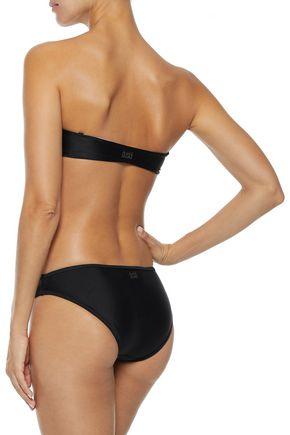 DUSKII Haleakala printed bandeau bikini top