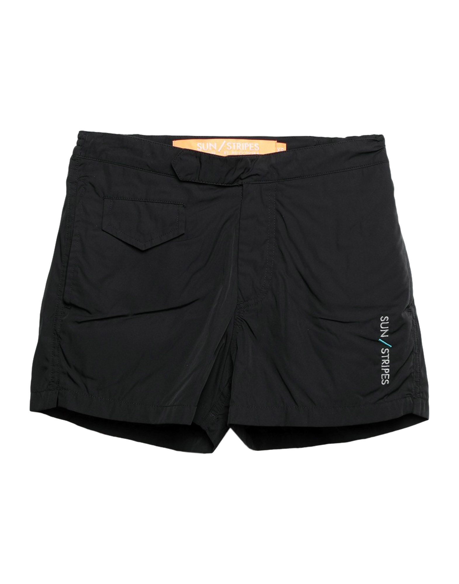 《セール開催中》SUNSTRIPES メンズ 水着(ボクサーパンツ) ブラック XS ポリエチレン 100%