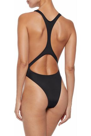 SOLID & STRIPED Cutout swimsuit