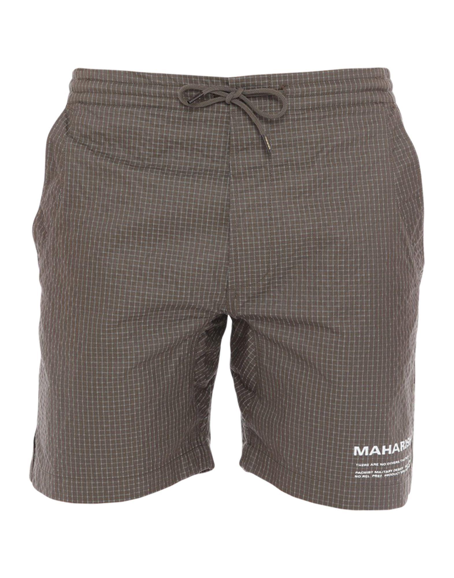 MAHARISHI Пляжные брюки и шорты maharishi брюки капри
