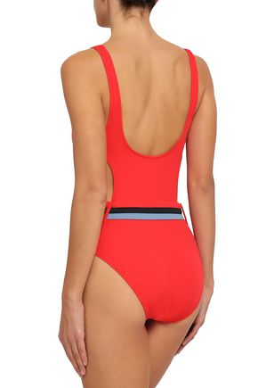 SOLID & STRIPED The Joan cutout swimsuit