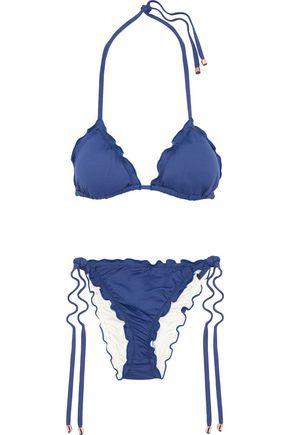 EBERJEY Ruffled triangle bikini