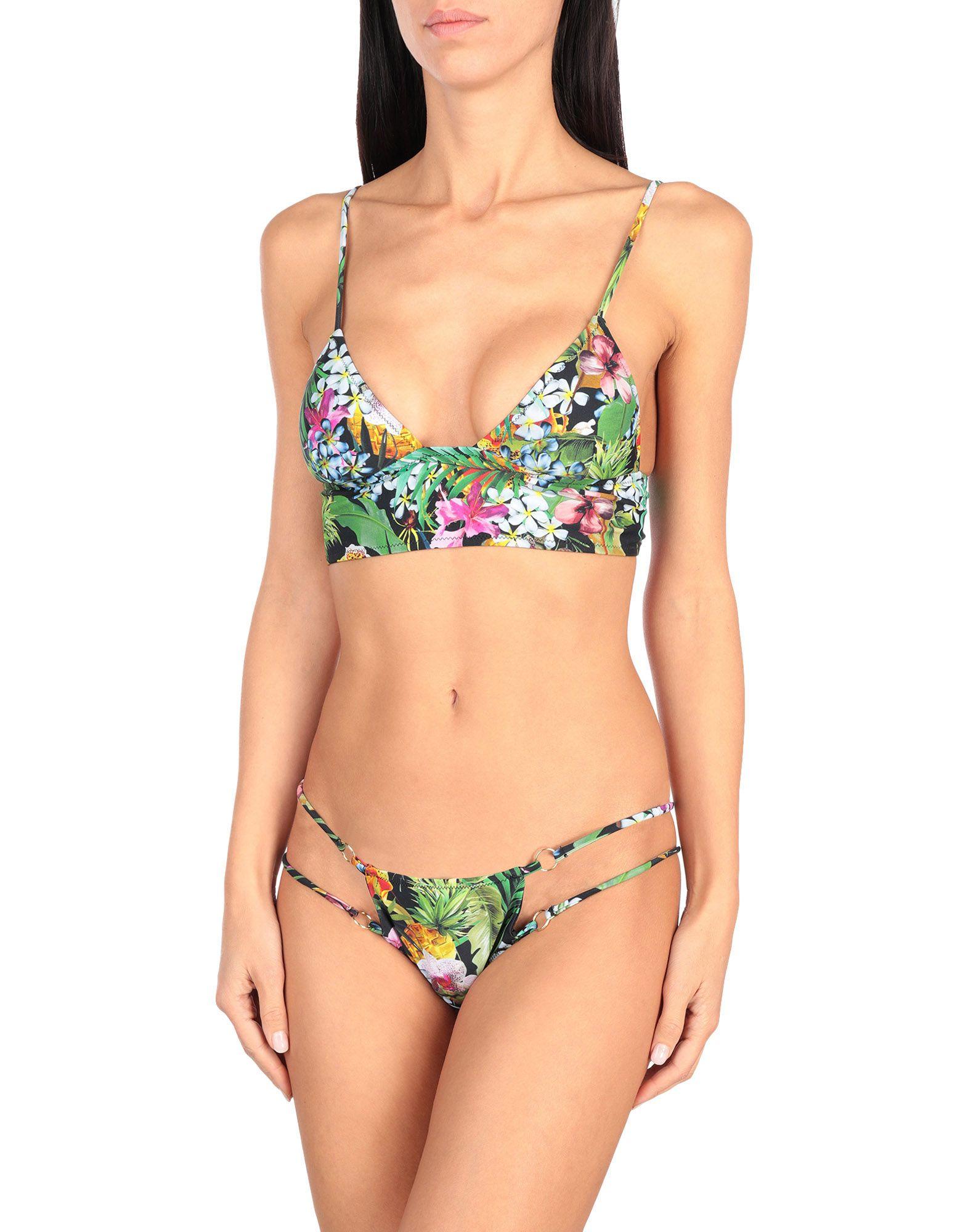 BIKINI LOVERS Бикини halter crisscross cropped bikini set