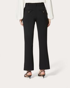Double Comfort Crêpe Trousers