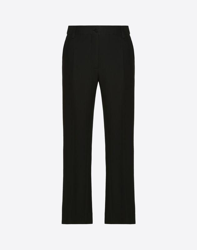 Silk Wool Cady Trousers