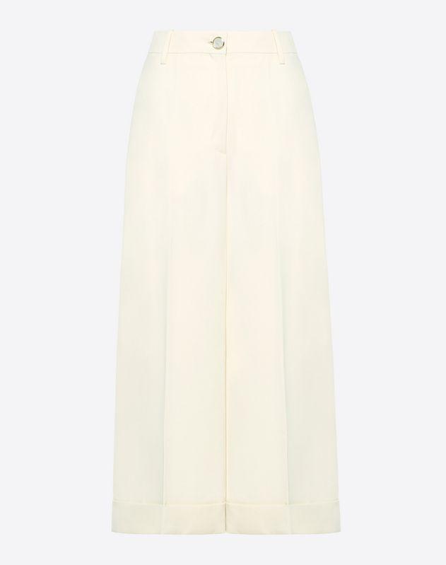 Hose aus Gabardine-Wollstretch