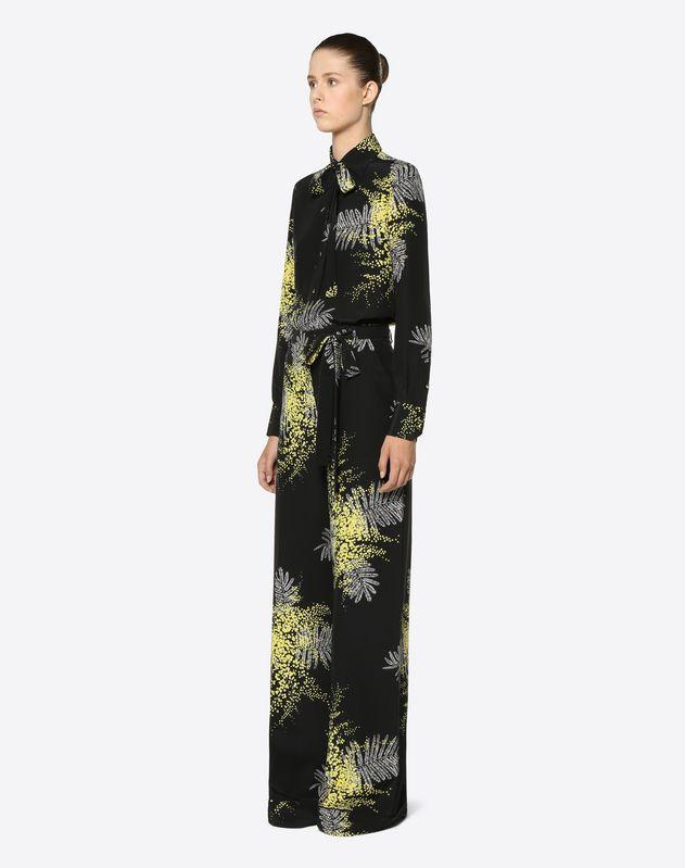 Mimosa Crêpe de Chine Trousers