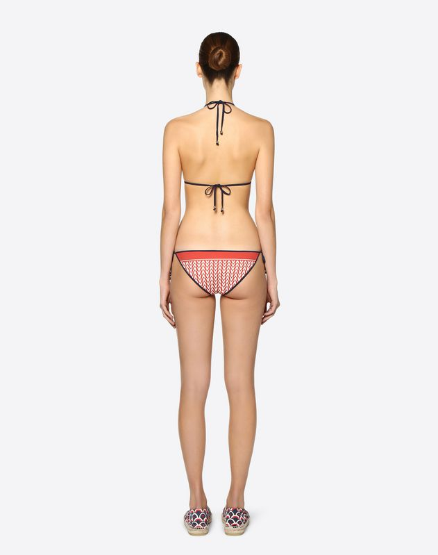 Optical Valentino Bikini