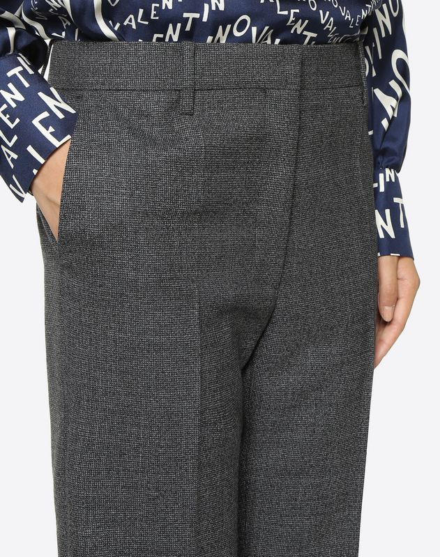 Twisted Grisaille Trousers