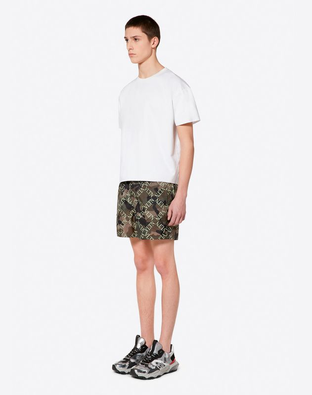 VLTN GRID SWIMMING SHORTS