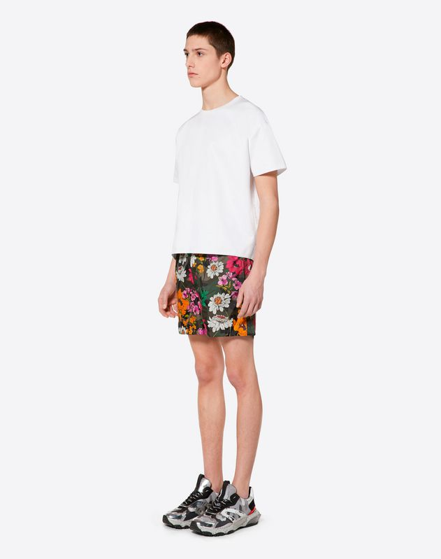 DEW CAMOU SWIMMING SHORTS