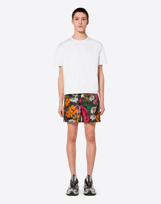 DEW CAMOU SWIM SHORTS