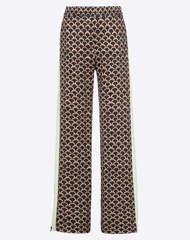 VALENTINO SCALE JERSEY PANTS