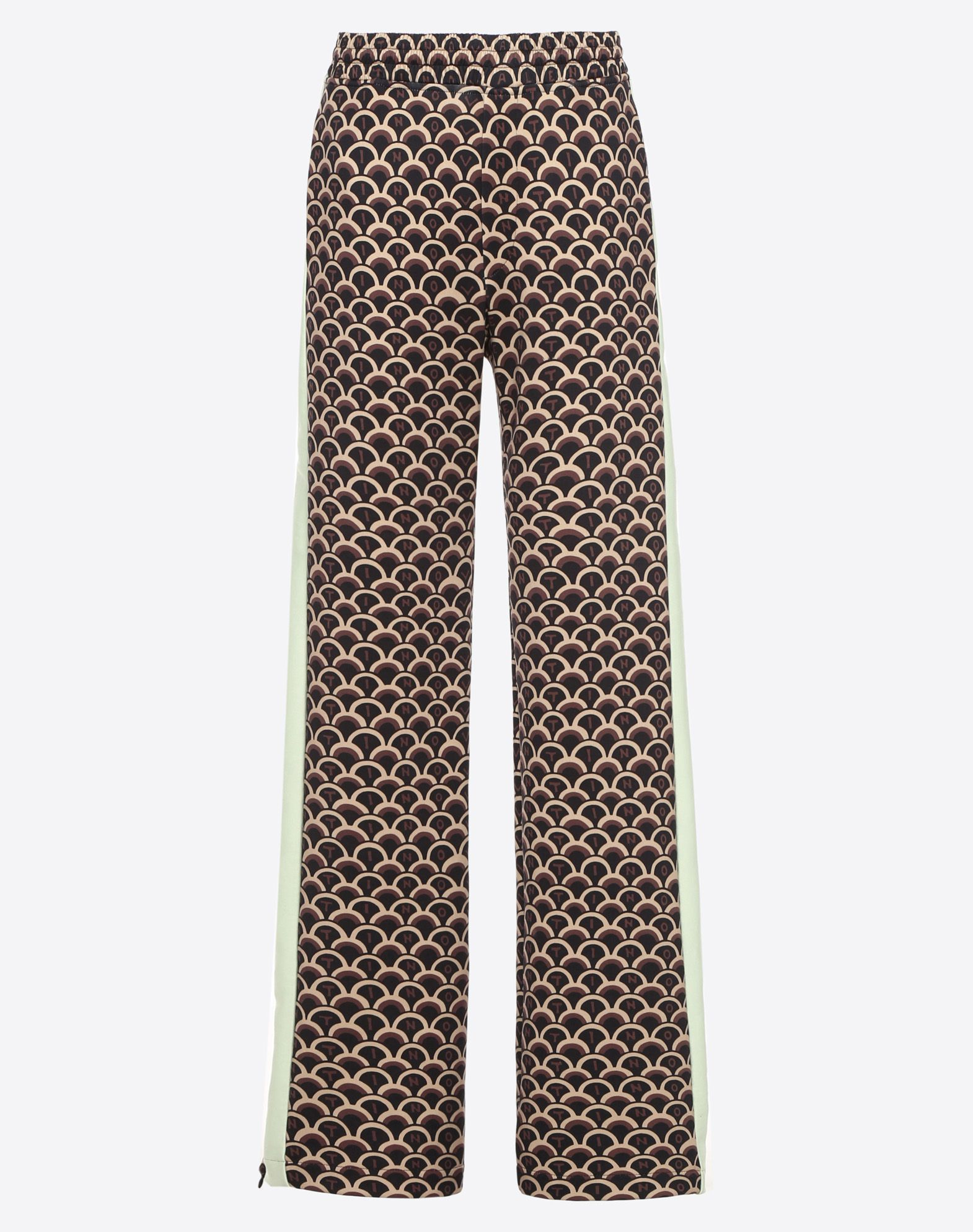 VALENTINO SCALE JERSEY TROUSERS
