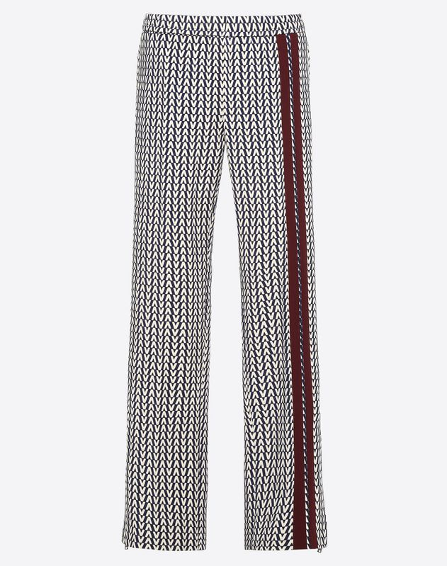 OPTICAL VALENTINO PANTS