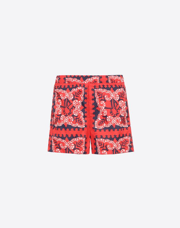 VALENTINO MINI BANDANA SWIMMING COSTUME