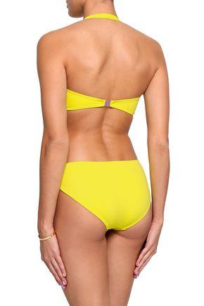 NORMA KAMALI Neon low-rise bikini briefs