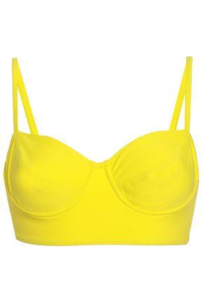 NORMA KAMALI Neon bikini top