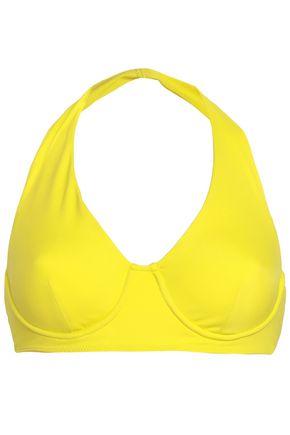 NORMA KAMALI Halterneck bikini top