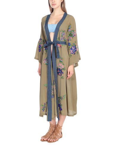 Купить Пляжное платье от ANJUNA цвет зеленый-милитари