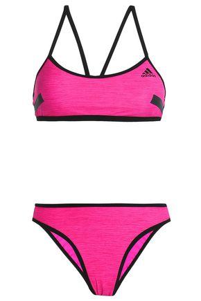 ADIDAS Stretch-mesh halterneck bikini
