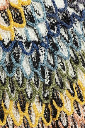 MISSONI MARE Crochet-knit jumpsuit