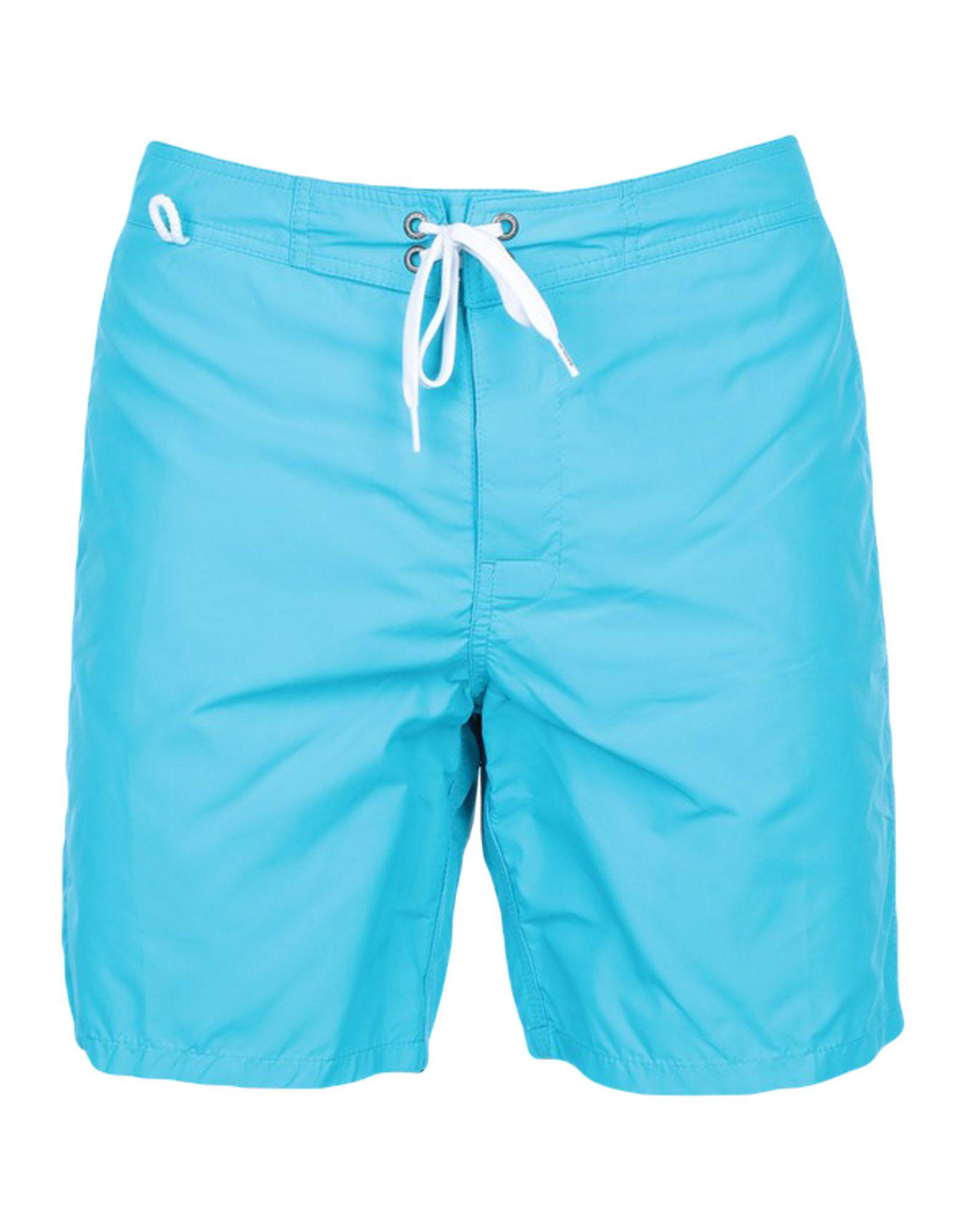 《セール開催中》SUNDEK メンズ 水着(ボクサーパンツ) アジュールブルー 29 ナイロン 100%