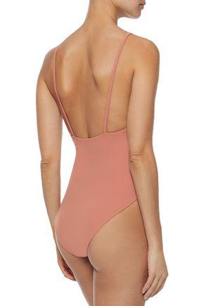 ALIX Delano neon swimsuit