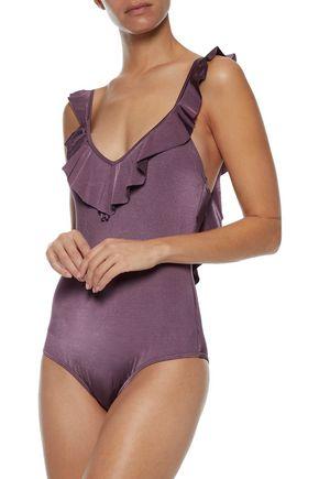 JETS AUSTRALIA by JESSIKA ALLEN Ruffle-trimmed swimsuit