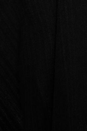 VIX PAULA HERMANNY Embroidered cotton-gauze coverup