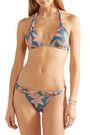 VIX PAULA HERMANNY Margarita floral-print triangle bikini top