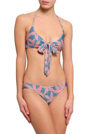 VIX PAULA HERMANNY Floral-print bikini briefs