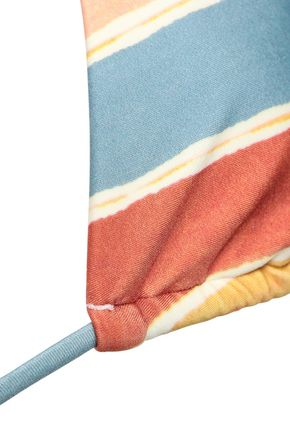 VIX PAULA HERMANNY Striped triangle bikini top